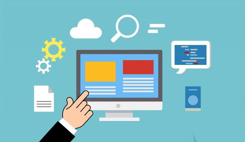 illustration d'applications numériques